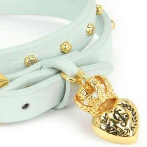 Juicy teal bracelet